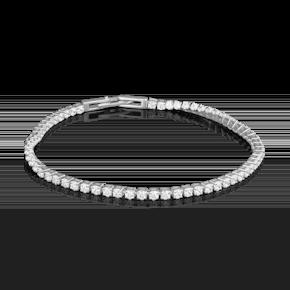 Браслет из белого золота с бриллиантом 05-0572-00-101-1120-30