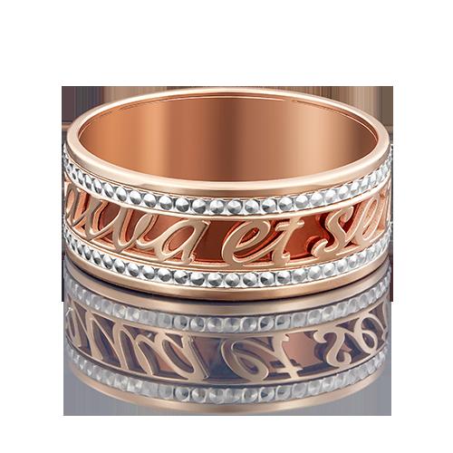 Кольцо из комбинированного золота 01-4940-00-000-1111-48