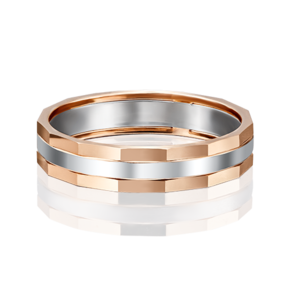 Обручальное кольцо из комбинированного золота 01-5187-00-000-1111-39