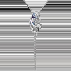 Подвеска из серебра с эмалью 03-3259-00-000-0200-68