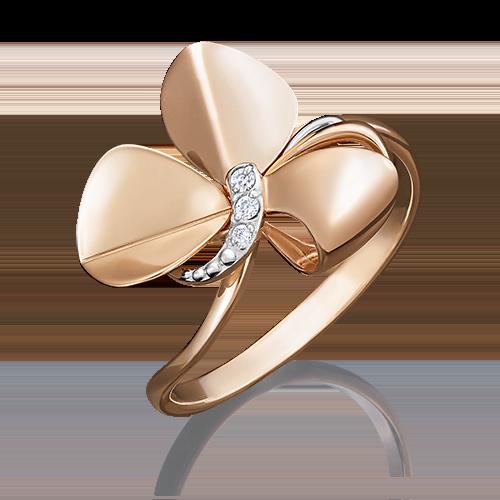 Кольцо из красного золота 01-5035-00-401-1110-48