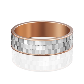 Обручальное кольцо из комбинированного золота 01-5038-00-000-1111-39