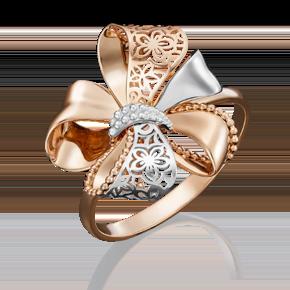 Кольцо из красного золота 01-5040-00-000-1110-48