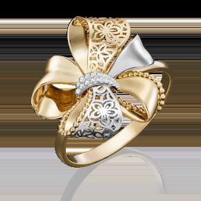 Кольцо из лимонного золота 01-5040-00-000-1130-48