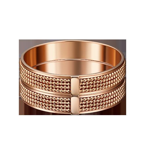 Обручальное кольцо из красного золота 01-4990-00-000-1110-39