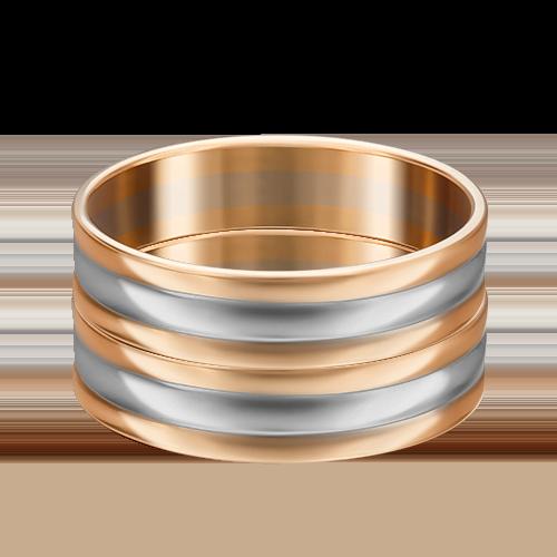 Обручальное кольцо из комбинированного золота 01-3267-00-000-1111-39