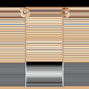 Серьги-продевки из красного золота 02-4152-00-000-1110-63