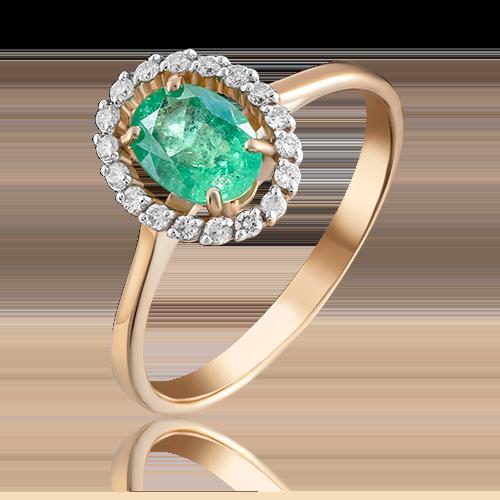 Кольцо из красного золота 01-1313-00-106-1110-30