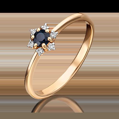 Кольцо из красного золота 01-1476-00-105-1110-30