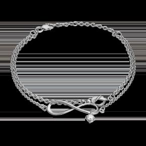 Браслет из серебра с фианитом 05-0596-00-401-0200-69