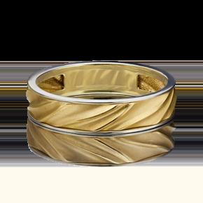 Обручальное кольцо из лимонного золота 01-5448-00-000-1121-39