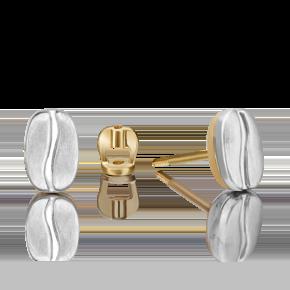 Серьги-пусеты из лимонного золота 02-4916-00-000-1121