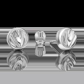 Серьги-пусеты из серебра 02-4962-00-000-0200