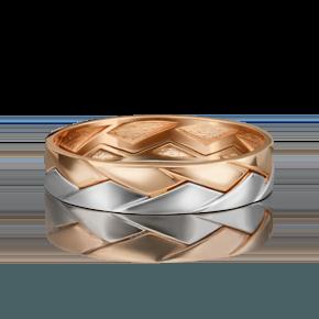 Обручальное кольцо из комбинированного золота 01-5416-00-000-1111-39