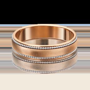 Обручальное кольцо из комбинированного золота 01-5318-00-000-1111-39