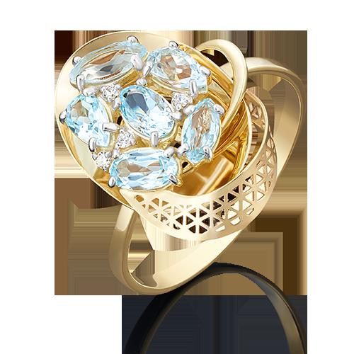 Кольцо из лимонного золота 01-4964-00-207-1130-46