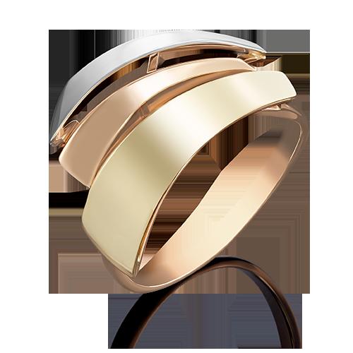 Кольцо из комбинированного золота 01-4965-00-000-1140-48