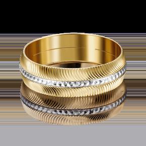 Обручальное кольцо из лимонного золота 01-4843-00-000-1121-18