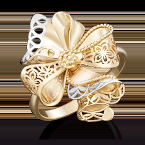 Кольцо из лимонного золота 01-5041-00-000-1130-48