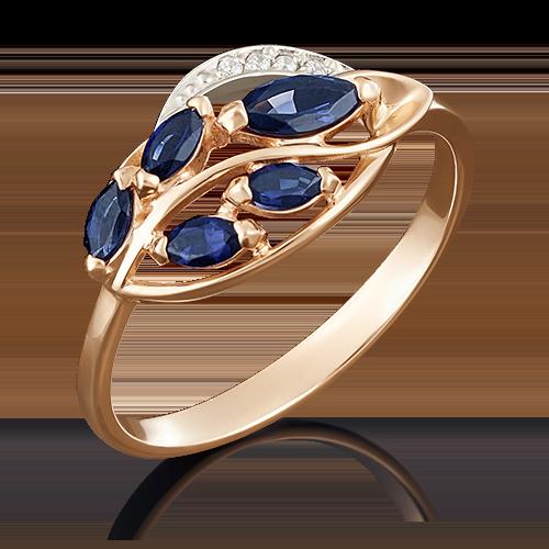 Кольцо из комбинированного золота 01-5042-00-105-1111-30