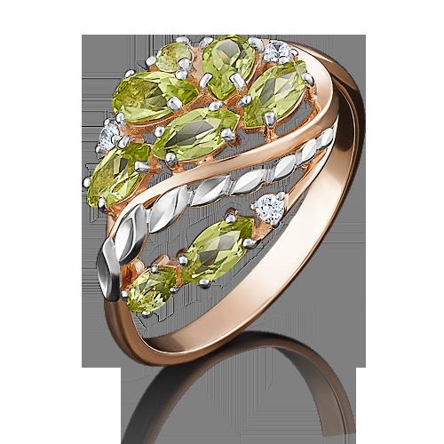 Кольцо из красного золота 01-5044-00-211-1110-46