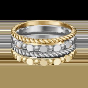 Наборное кольцо из лимонного золота 13-0004-00-000-1121-48
