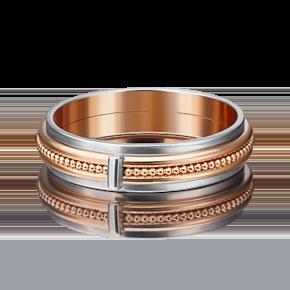 Обручальное кольцо из комбинированного золота 01-5188-00-000-1111-39