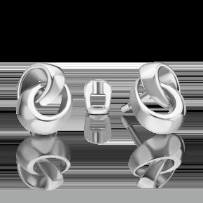 Серьги-пусеты из серебра 02-4950-00-000-0200