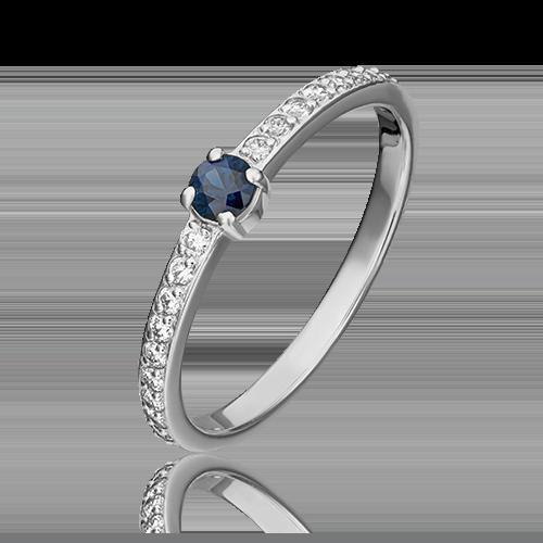 Кольцо из белого золота 01-0639-00-105-1120-30