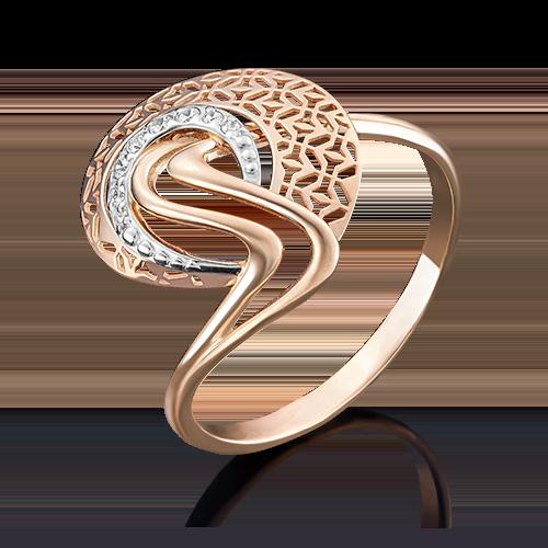 Кольцо из красного золота 01-4945-00-401-1110-48
