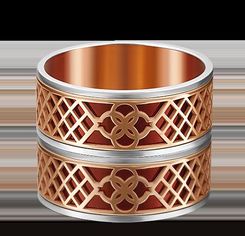 Обручальное кольцо из комбинированного золота 01-4947-00-000-1111-48