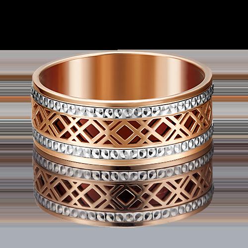Обручальное кольцо из комбинированного золота 01-4948-00-000-1111-48