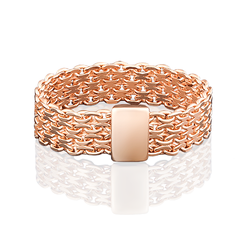 Кольцо из красного золота 01-4949-00-000-1110-01