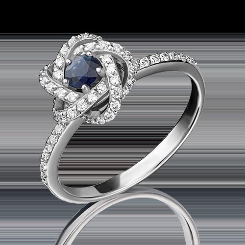 Кольцо из белого золота 01-1436-00-105-1120-30
