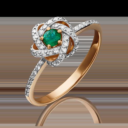 Кольцо из красного золота 01-1435-00-106-1110-30