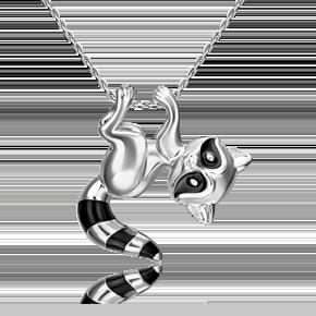 Подвеска из серебра с эмалью 03-3353-00-000-0200