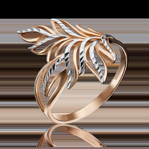 Кольцо из красного золота 01-3584-01-000-1110-04