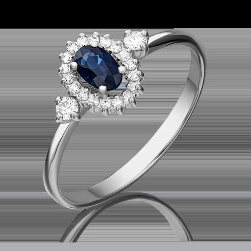 Кольцо из белого золота 01-1448-00-105-1120-30