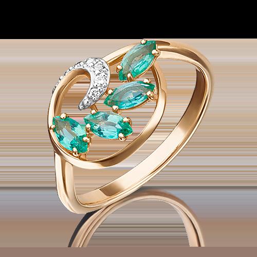 Кольцо из красного золота 01-1449-00-106-1110-30