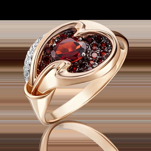 Кольцо из красного золота 01-5156-00-264-1110-46