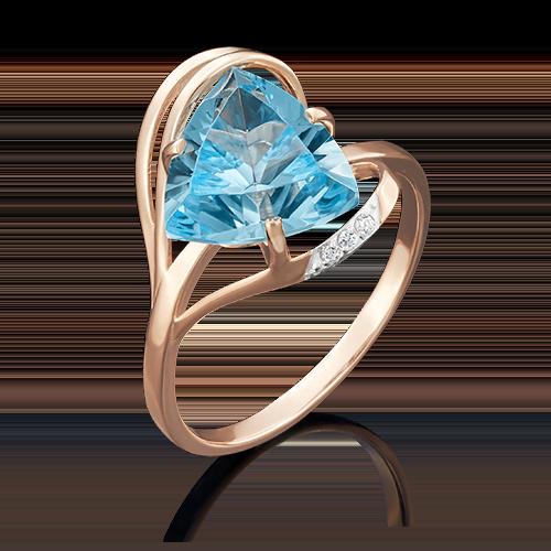 Кольцо из красного золота 01-4778-00-207-1110-46