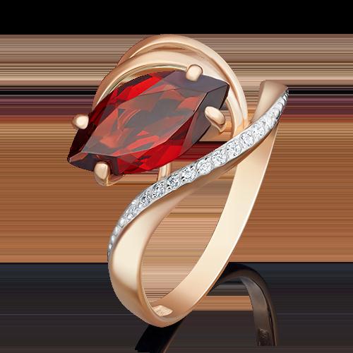 Кольцо из красного золота 01-4780-00-210-1110-46