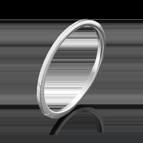 Кольцо из белого золота 01-4770-06-000-1120-04