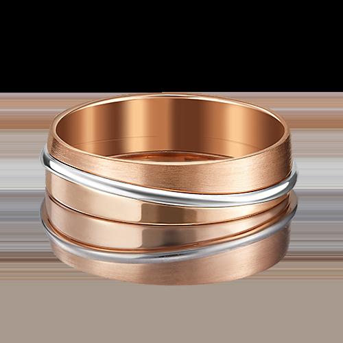Обручальное кольцо из комбинированного золота 01-5097-00-000-1111-39