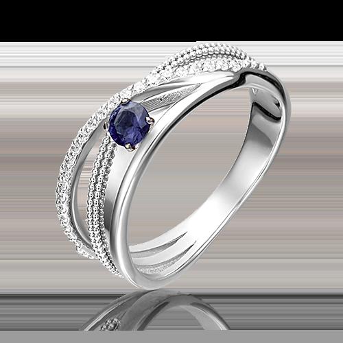 Кольцо из белого золота 01-5220-00-105-1120-30