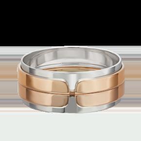 Обручальное кольцо из комбинированного золота 01-5433-00-000-1111-39