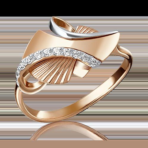 Кольцо из красного золота 01-5095-00-401-1110-48