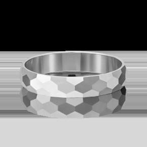 Обручальное кольцо из белого золота 01-5376-00-000-1120-18