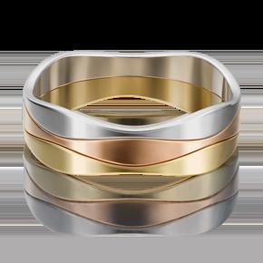 Обручальное кольцо из комбинированного золота 01-5316-00-000-1140-39