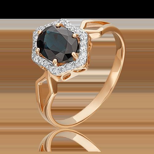 Кольцо из красного золота 01-1289-00-105-1110-30